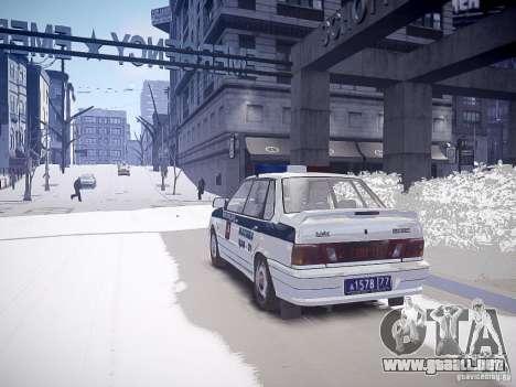 VAZ 2115 DPS para GTA 4 left