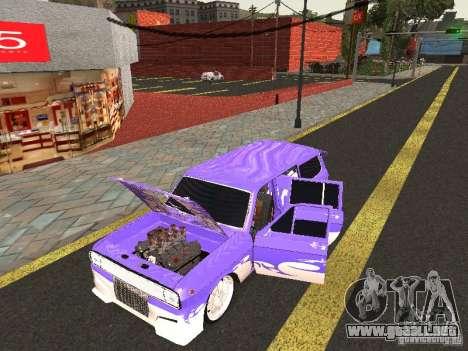 Lowrider GAZ 24-12 para GTA San Andreas vista posterior izquierda