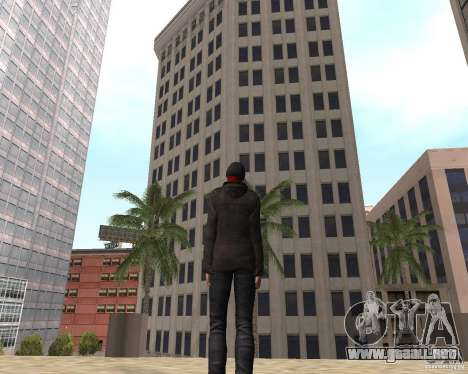 Spider Man para GTA San Andreas quinta pantalla