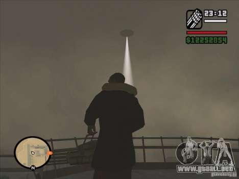 Misteriosos ovnis en el área 51 para GTA San Andreas tercera pantalla