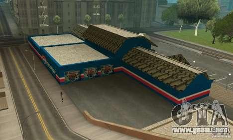 Pepsi Market and Pepsi Truck para GTA San Andreas segunda pantalla