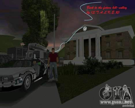 Volver al futuro Hill Valley para GTA Vice City