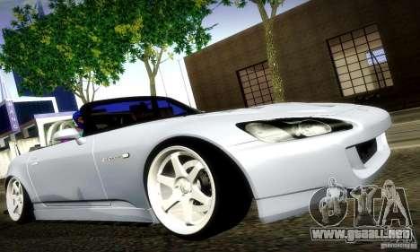 Honda S2000 Street Tuning para GTA San Andreas left