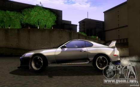 Toyota Supra D1 1998 para GTA San Andreas left