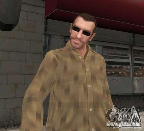 Nuevas gafas de Niko-negro para GTA 4