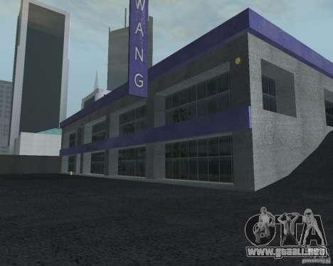 Salón del automóvil de SF para GTA San Andreas