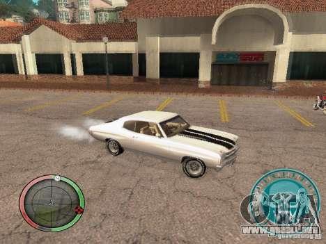 Skul Speedometer para GTA San Andreas tercera pantalla