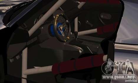 Mazda MX5 Style Drifting para GTA San Andreas vista hacia atrás