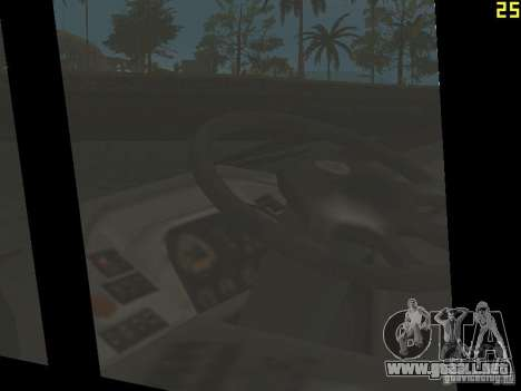 Neoplan Tourliner para visión interna GTA San Andreas