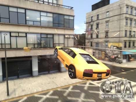 Lamborghini Murcielago LP640 2007 para GTA 4 vista superior