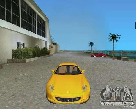 Ferrari 612 Scaglietti para GTA Vice City vista lateral izquierdo