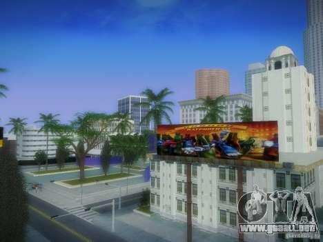 Nuevos carteles por todo el estado para GTA San Andreas sucesivamente de pantalla