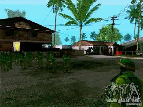 Camuflaje bosque Morpeh para GTA San Andreas tercera pantalla