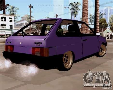 VAZ 2108 RF para GTA San Andreas left