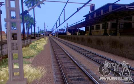 TREN ruso versión v1.0 para GTA San Andreas quinta pantalla