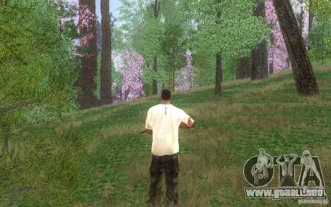 Spring Season para GTA San Andreas sucesivamente de pantalla