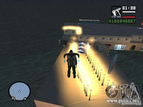 Night moto track para GTA San Andreas tercera pantalla
