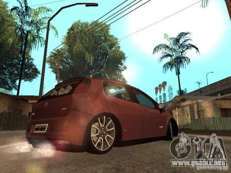 Fiat Punto T-Jet Edit para GTA San Andreas left