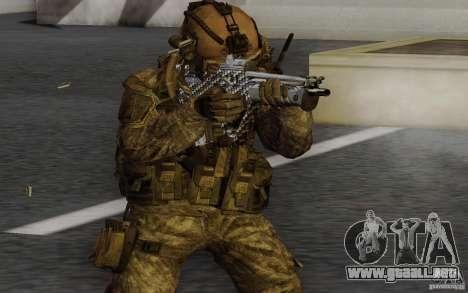 Tavor Tar-21 Carbon para GTA San Andreas segunda pantalla
