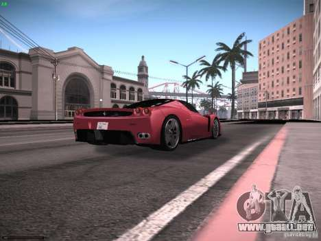 LiberrtySun Graphics ENB v2.0 para GTA San Andreas novena de pantalla