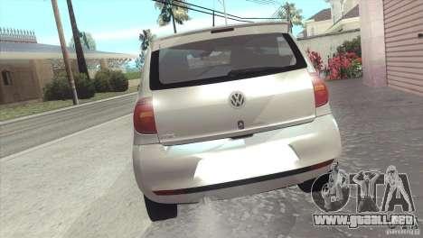 Volkswagen Fox 2013 para GTA San Andreas left