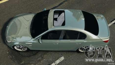 BMW M5 E60 2009 v2.0 para GTA 4 visión correcta