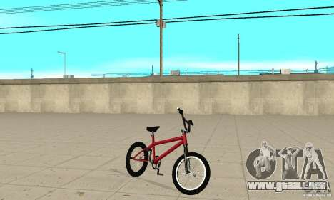 Powermatic BMX 2006 para GTA San Andreas left