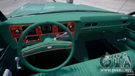 Mercury Monterey 2DR 1972 para GTA 4 visión correcta