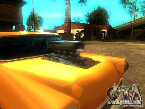 Crazy CABBIE para GTA San Andreas left