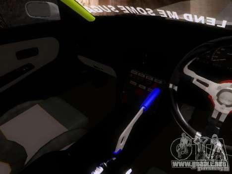 Nissan Silvia S13 Drift Style para vista lateral GTA San Andreas