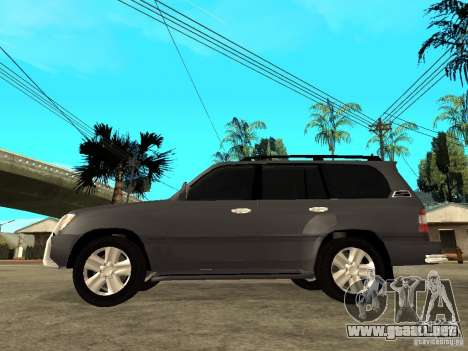 Toyota Land Cruiser 100 para GTA San Andreas left