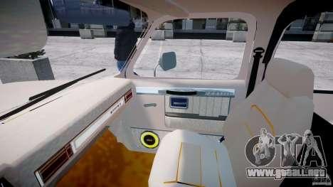 Chevrolet Blazer K5 Stock para GTA 4 visión correcta