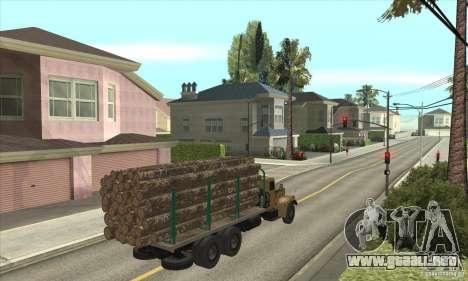 KrAZ-257 para la visión correcta GTA San Andreas