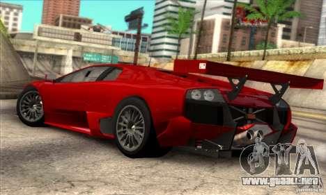 Lamborghini Murcielago R-SV GT1 para GTA San Andreas left