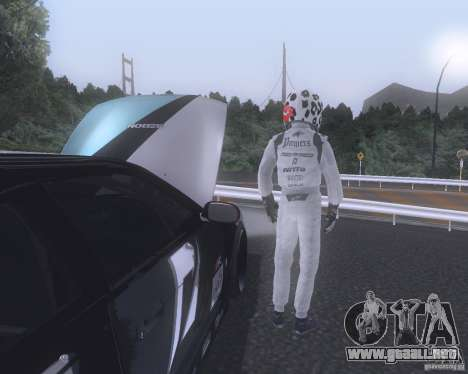 Matt Powers NFS Team para GTA San Andreas segunda pantalla