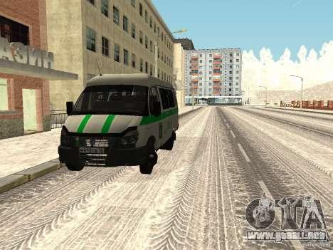 Empresas 3302 gacela para GTA San Andreas left
