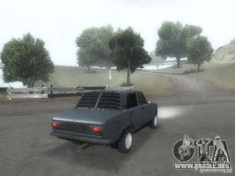 VAZ 2101 para la vista superior GTA San Andreas