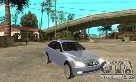 Toyota Alteza Wagon para GTA San Andreas vista hacia atrás