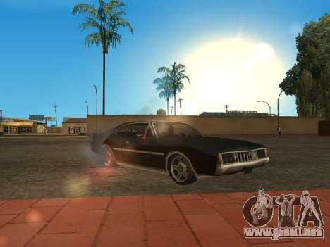 Calidad fulgor del sol para GTA San Andreas