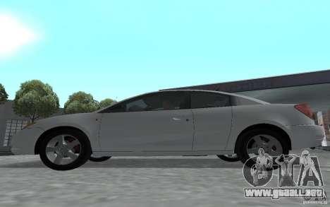 Saturn Ion Quad Coupe para la visión correcta GTA San Andreas