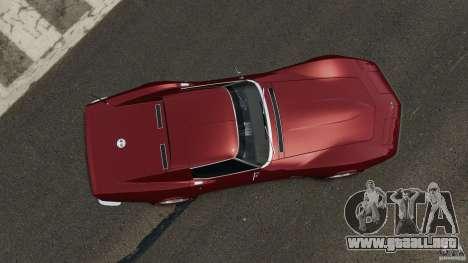 Chevrolet Corvette Stringray 1969 v1.0 [EPM] para GTA 4 visión correcta