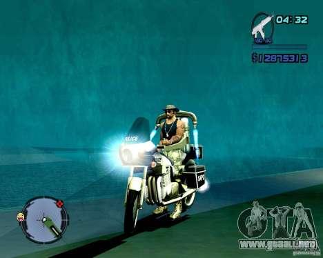 Not ENB para GTA San Andreas octavo de pantalla