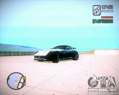 ENBSeries by Jack Nord para GTA San Andreas segunda pantalla