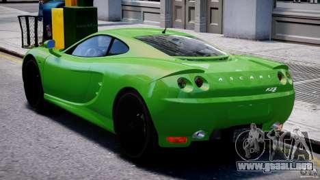 Ascari KZ-1 para GTA 4 visión correcta