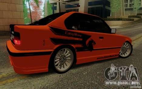 BMW E34 540i Tunable para visión interna GTA San Andreas