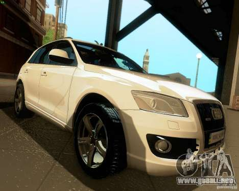 Audi Q5 para visión interna GTA San Andreas