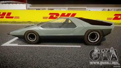 Alfa Romeo Carabo para GTA 4 left