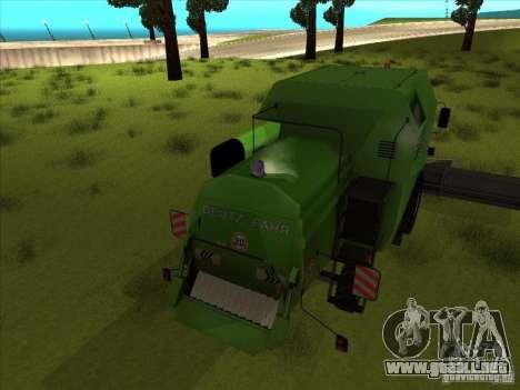 Deutz Harvester para la visión correcta GTA San Andreas