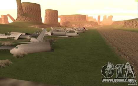New desert para GTA San Andreas séptima pantalla