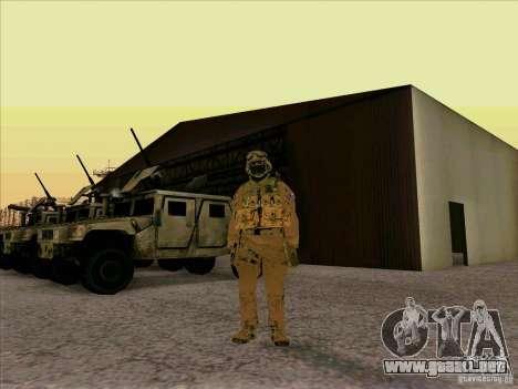 Morpeh americano para GTA San Andreas segunda pantalla